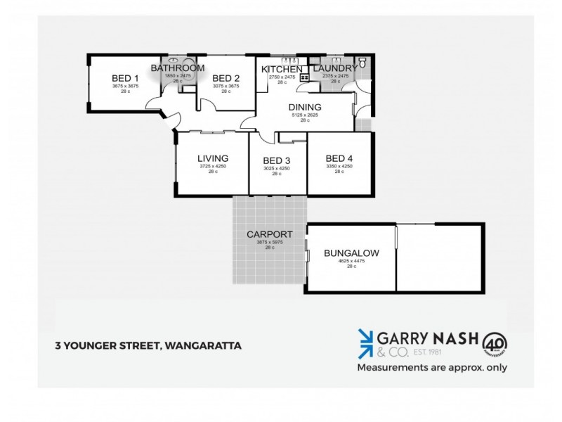 3 Younger Street, Wangaratta VIC 3677 Floorplan