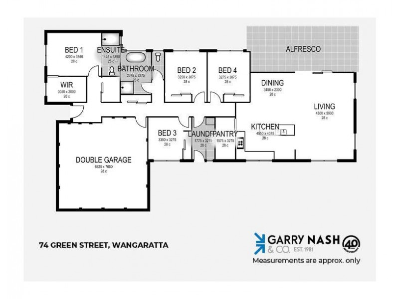 74 Green Street, Wangaratta VIC 3677 Floorplan
