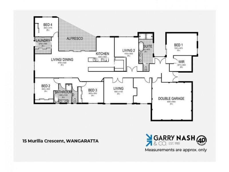 15 Murilla Crescent, Wangaratta VIC 3677 Floorplan