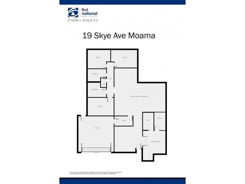 19 Skye Avenue, Moama NSW 2731 Floorplan