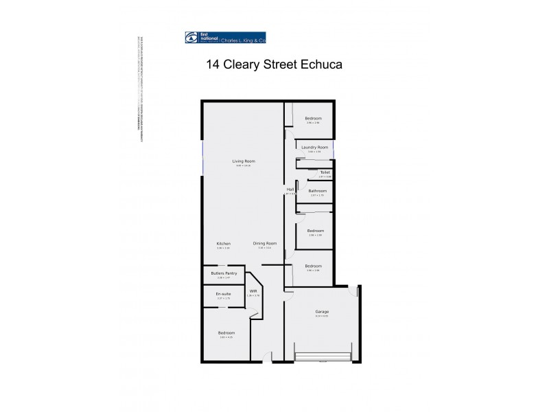14 Cleary Street, Echuca VIC 3564 Floorplan