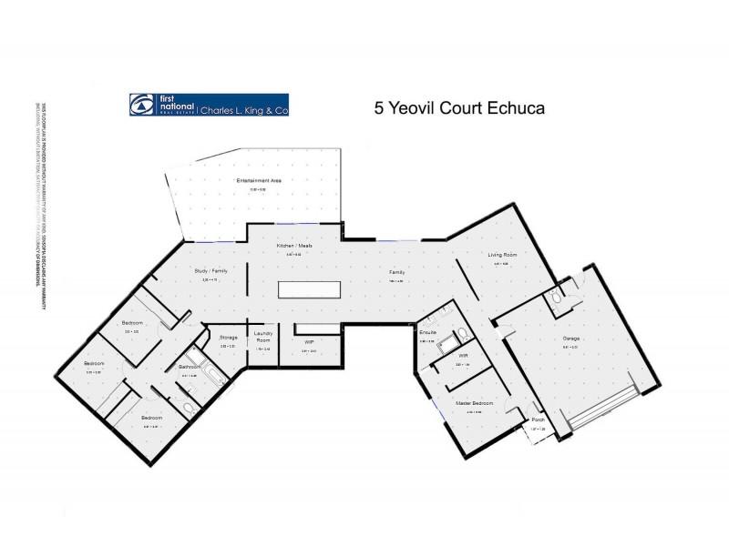 5 Yeovil Court, Echuca VIC 3564 Floorplan