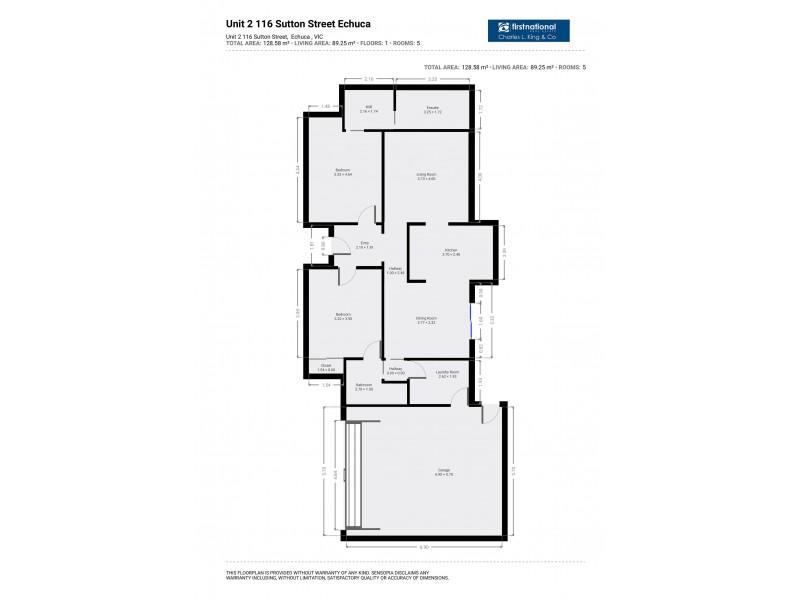 1,2 and 3/116 Sutton Street, Echuca VIC 3564 Floorplan