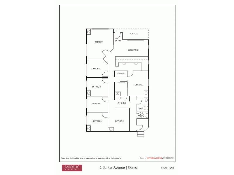 2 Barker Avenue, Como WA 6152 Floorplan