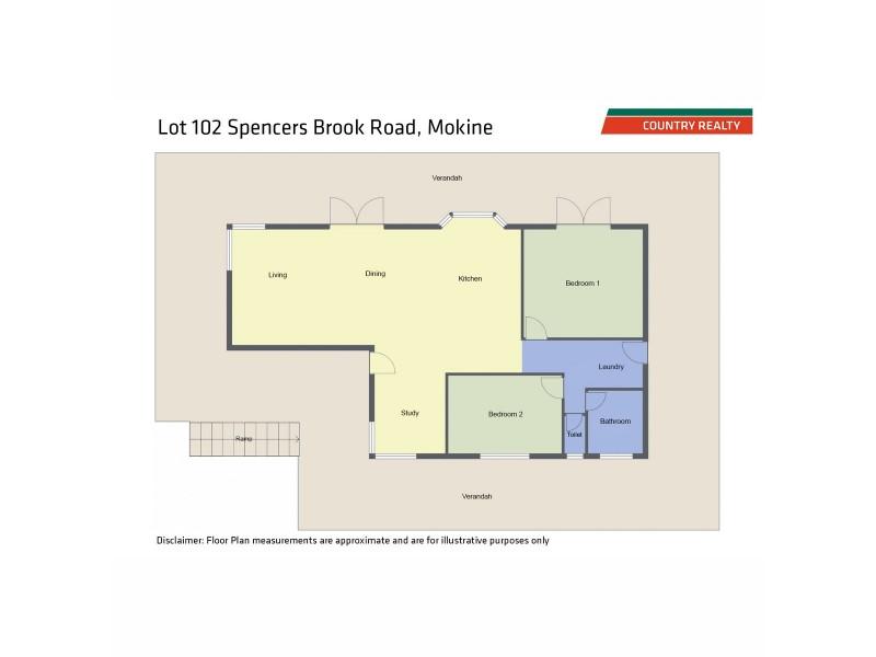 1 Old Spencers Road, Mokine WA 6401 Floorplan