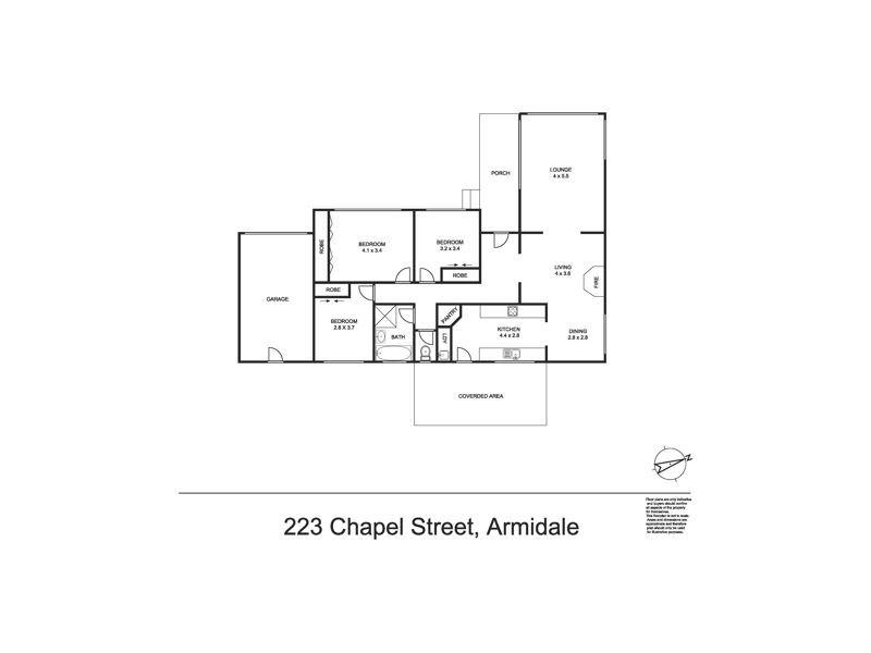 223 Chapel Street, Armidale NSW 2350 Floorplan