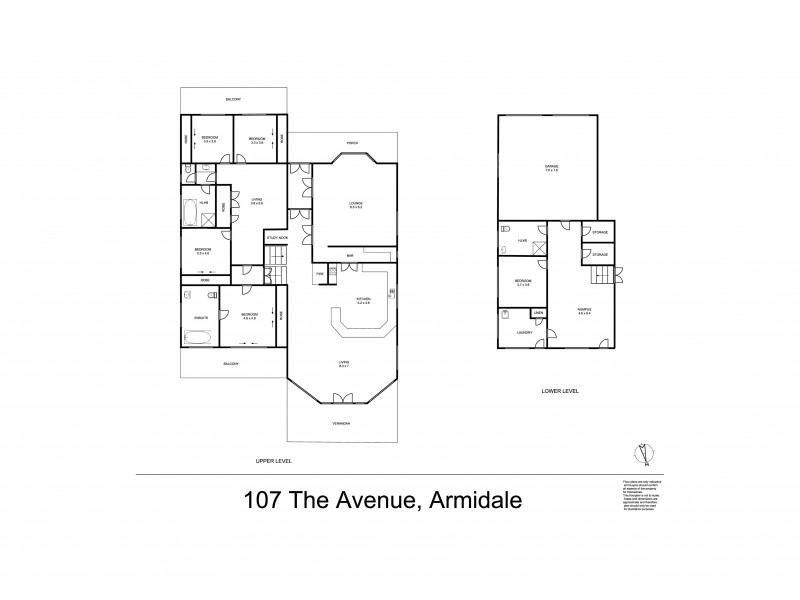 107 The Avenue, Armidale NSW 2350 Floorplan