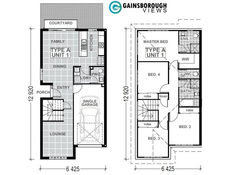 127/370 Gainsborough Drive, Pimpama QLD 4209 Floorplan