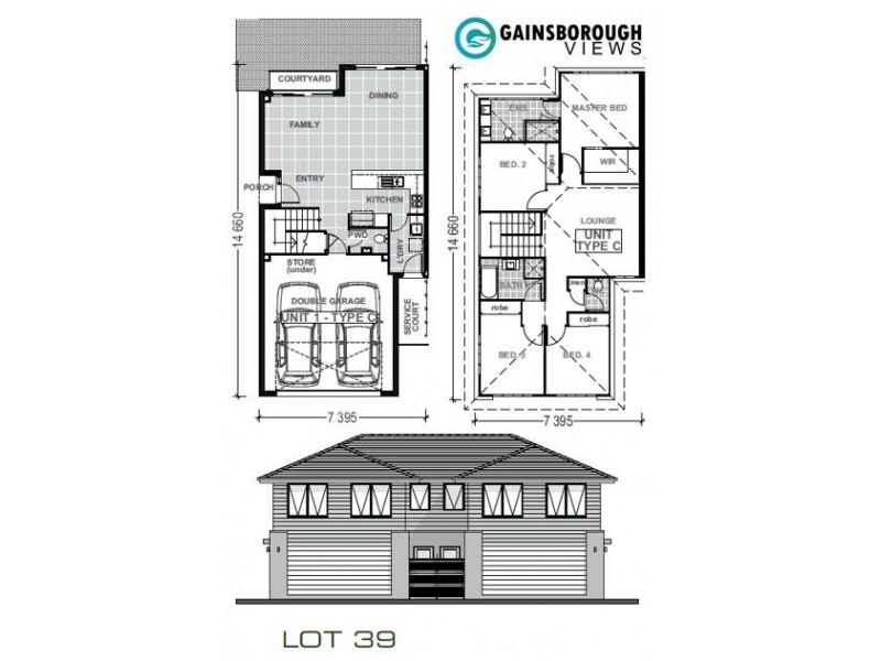 39/370 Gainsborough Drive, Pimpama QLD 4209 Floorplan