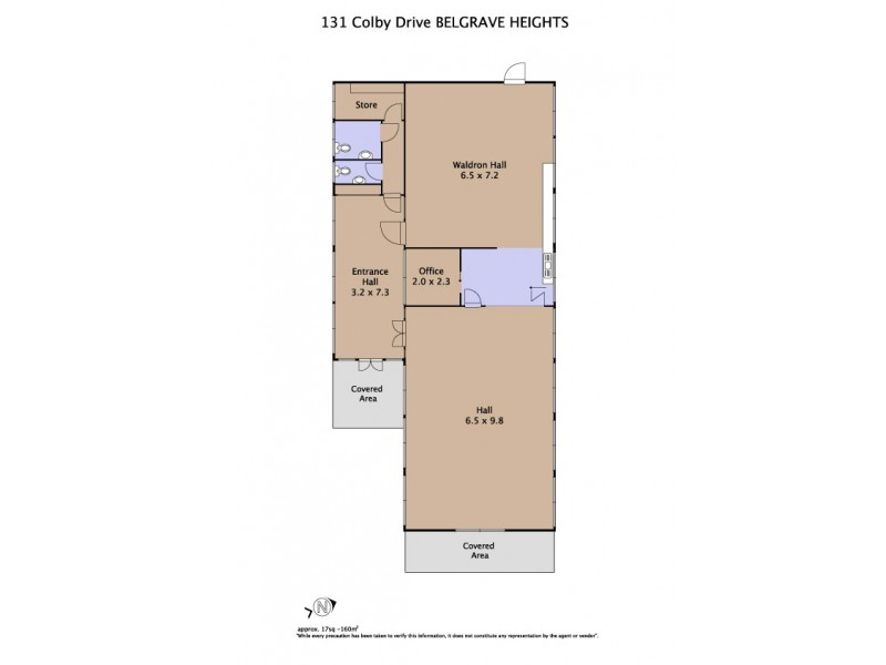 131 Colby Drive, Belgrave Heights VIC 3160 Floorplan