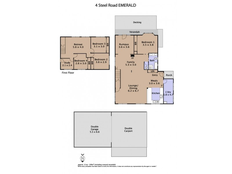 4 Steel Road, Emerald VIC 3782 Floorplan