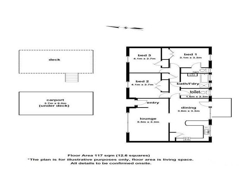 6 Paradise Grove, Emerald VIC 3782 Floorplan