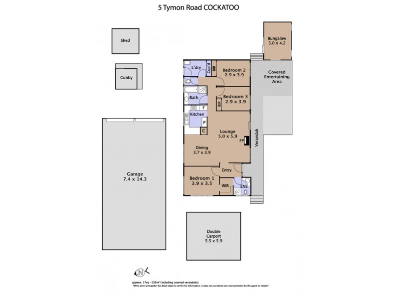 5 Tymon Road, Cockatoo VIC 3781 Floorplan