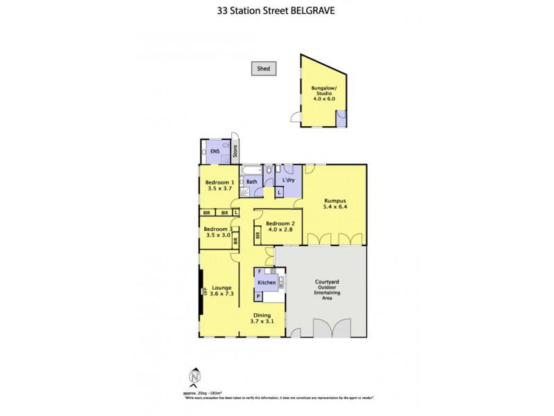 33 Station Street, Belgrave VIC 3160 Floorplan