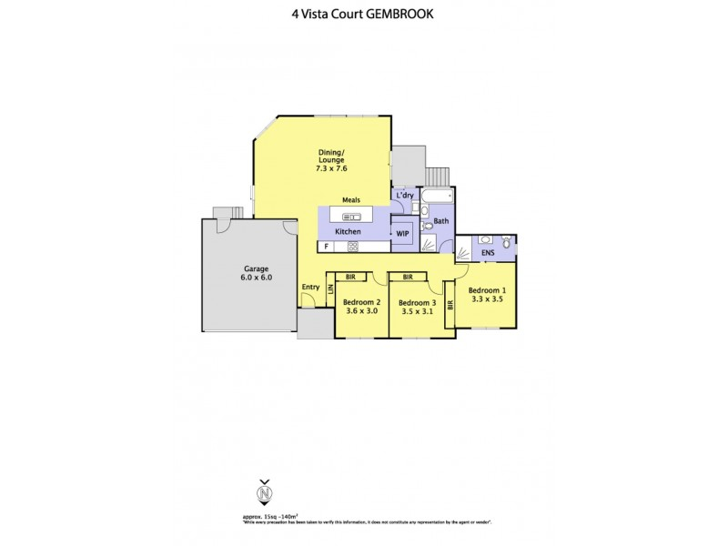4 Vista Court, Gembrook VIC 3783 Floorplan
