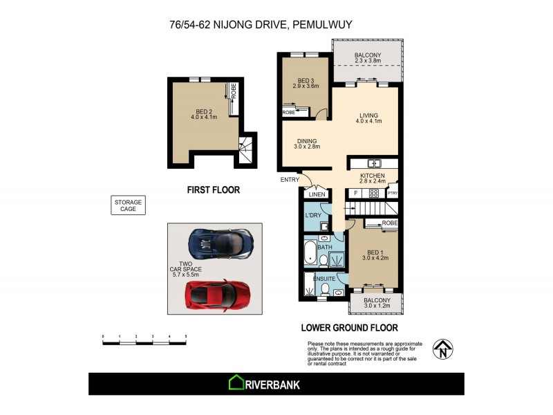 76/54-62 Nijong Dr, Pemulwuy NSW 2145 Floorplan