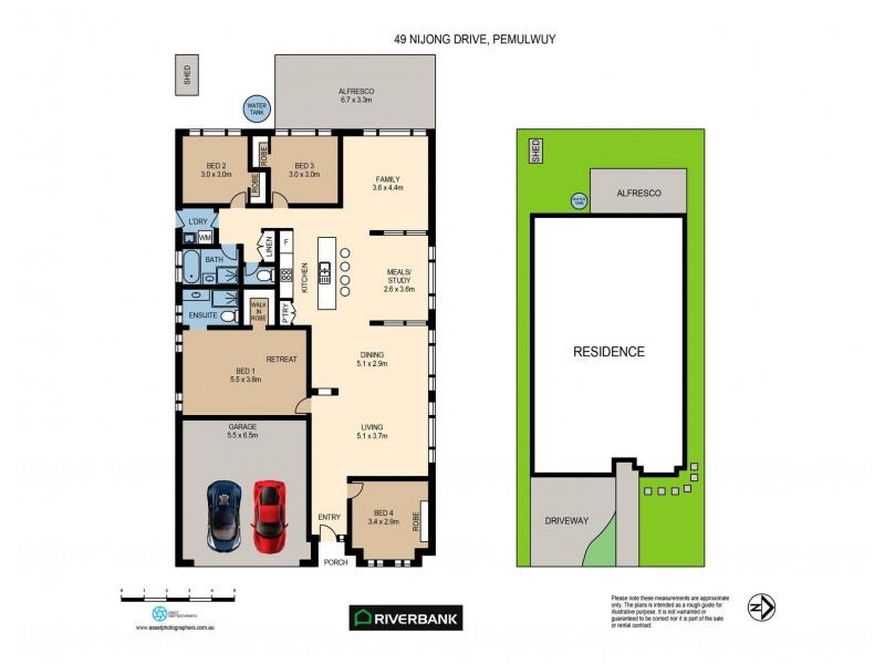 49 Nijong Drive, Pemulwuy NSW 2145 Floorplan