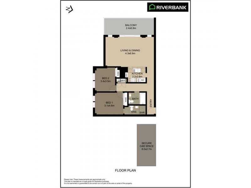 25/54-62 Nijong Drive, Pemulwuy NSW 2145 Floorplan