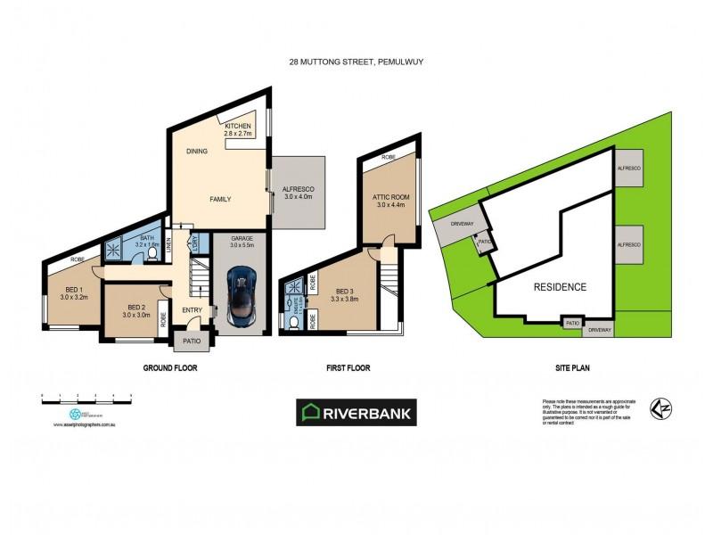 34 Jirrang Street, Pemulwuy NSW 2145 Floorplan