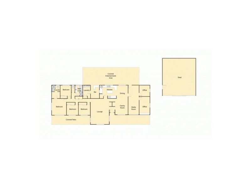308 Caboolture River Road, Upper Caboolture QLD 4510 Floorplan