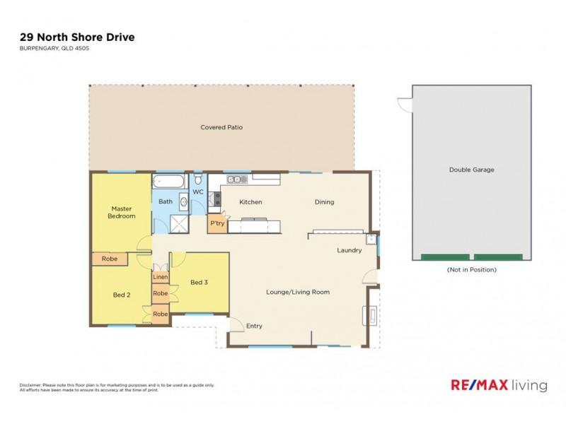 29 North Shore Drive, Burpengary QLD 4505 Floorplan