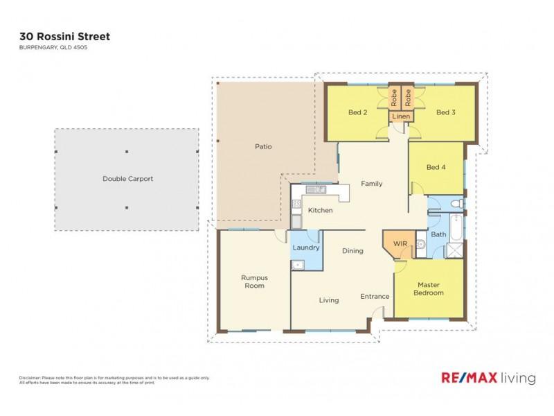 30 Rossini Street, Burpengary QLD 4505 Floorplan