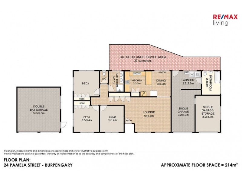 24 Pamela Street, Burpengary QLD 4505 Floorplan