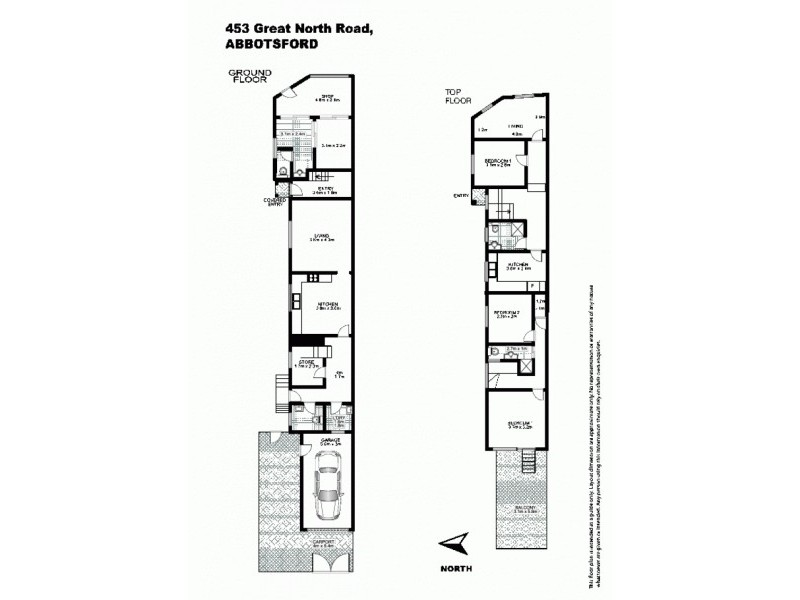 453 Great North Road, Abbotsford NSW 2046 Floorplan