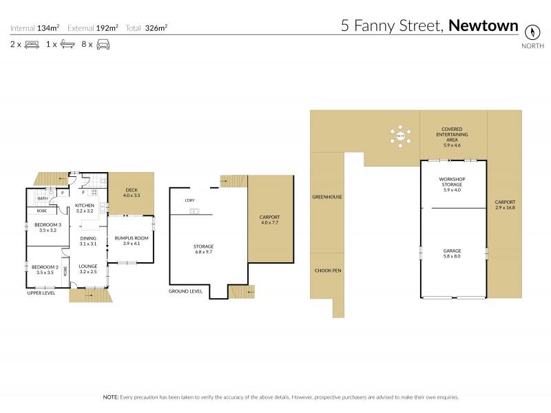 5 Fanny Street, Newtown QLD 4350 Floorplan