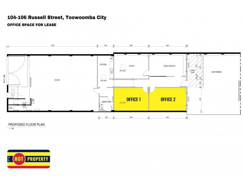 104-106 Russell Street, Toowoomba City QLD 4350 Floorplan