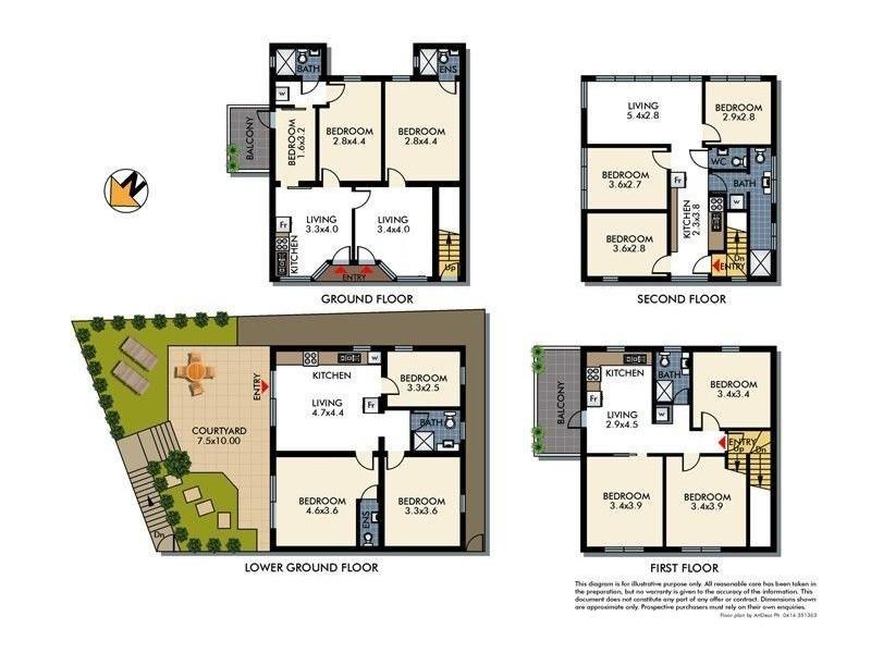 283 Old South Head Road, Bondi NSW 2026 Floorplan