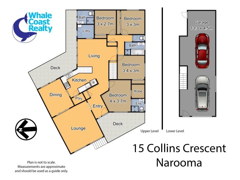 15 Collins Crescent, Narooma NSW 2546 Floorplan