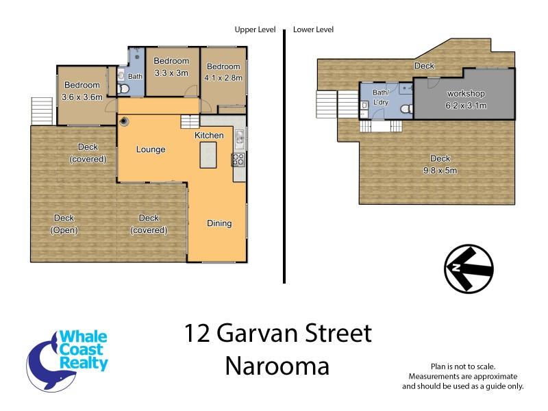 12 Garvan Street, Narooma NSW 2546 Floorplan