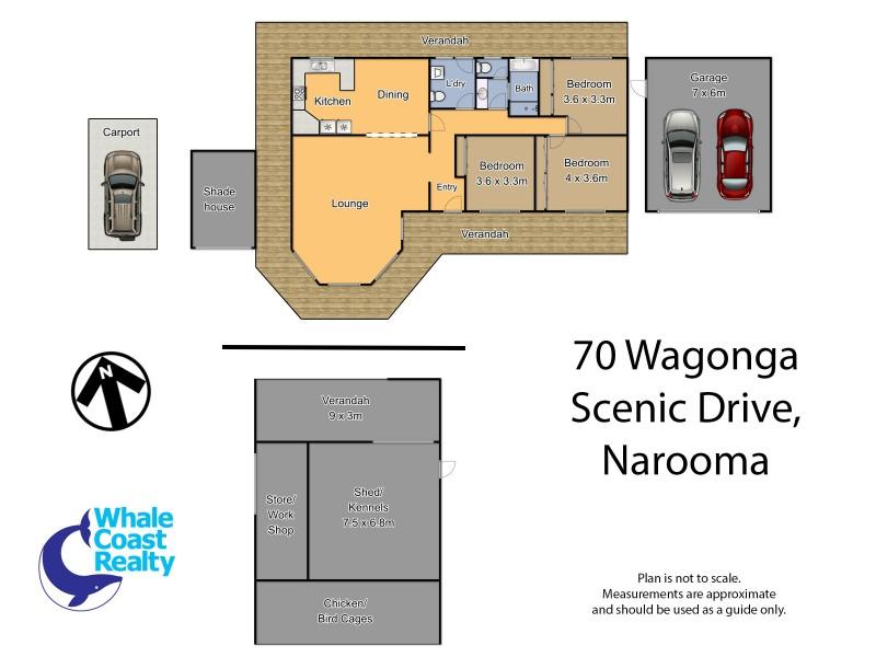 70 Wagonga Scenic Drive, Narooma NSW 2546 Floorplan