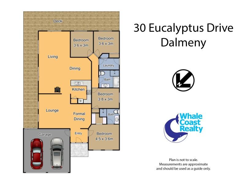 30 Eucalyptus Drive, Dalmeny NSW 2546 Floorplan