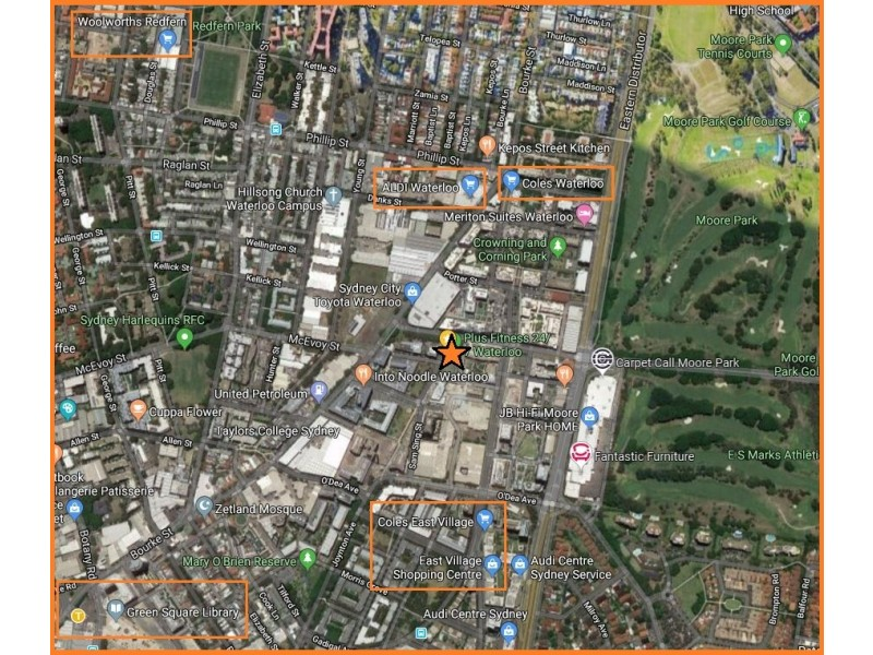 6/11A Lachlan Street, Waterloo NSW 2017