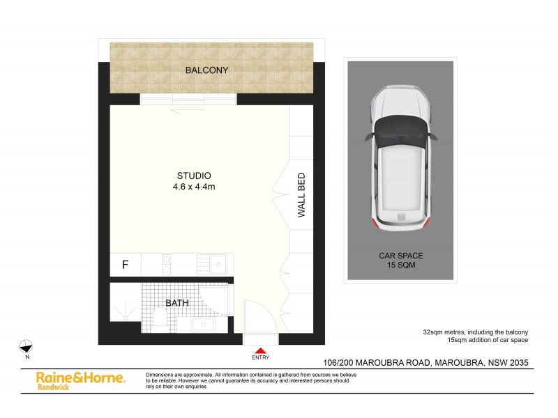 106/200 Maroubra Road, Maroubra NSW 2035 Floorplan