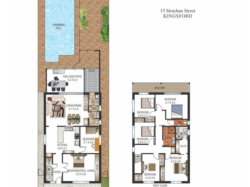 15 Strachan Street, Kingsford NSW 2032 Floorplan