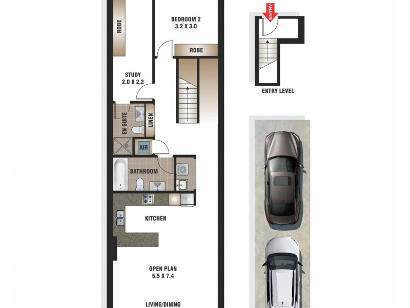 102/220 Coward Street, Mascot NSW 2020 Floorplan