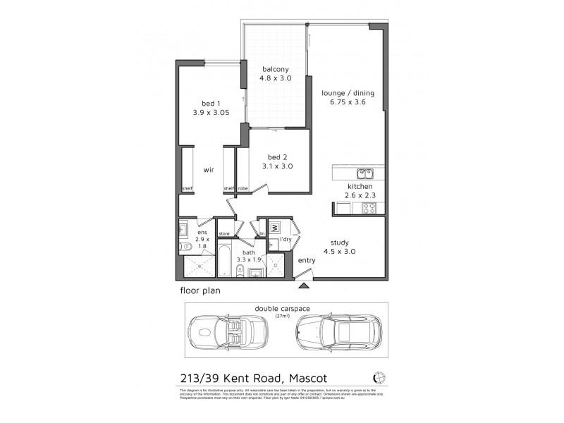 213/39 Kent Road, Mascot NSW 2020