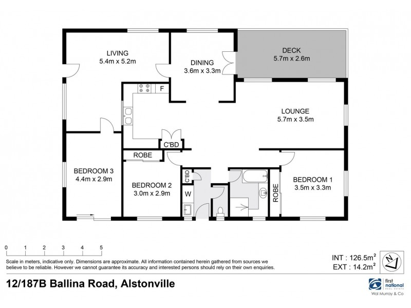 12/187 Ballina Road, Alstonville NSW 2477 Floorplan
