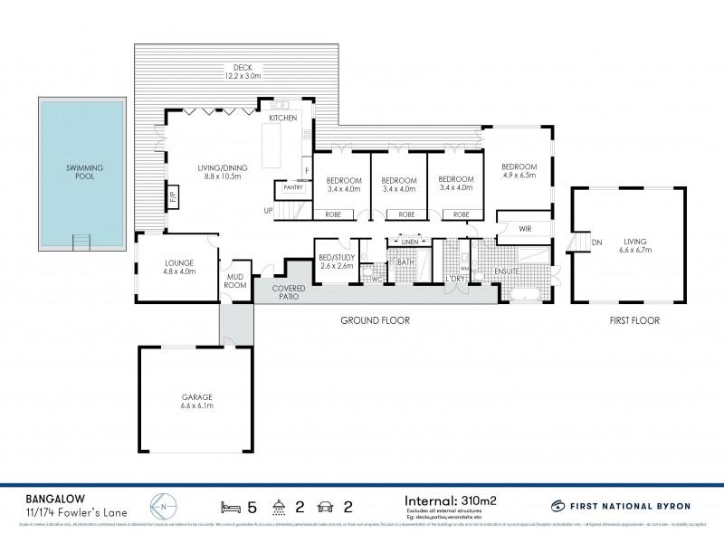 11/174-176 Fowlers Lane, Bangalow NSW 2479 Floorplan
