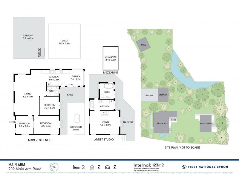 909 Main Arm Road, Main Arm NSW 2482 Floorplan
