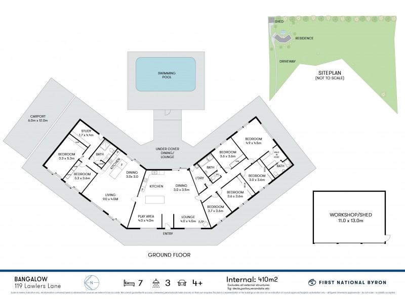 119 Lawlers Lane, Bangalow NSW 2479 Floorplan