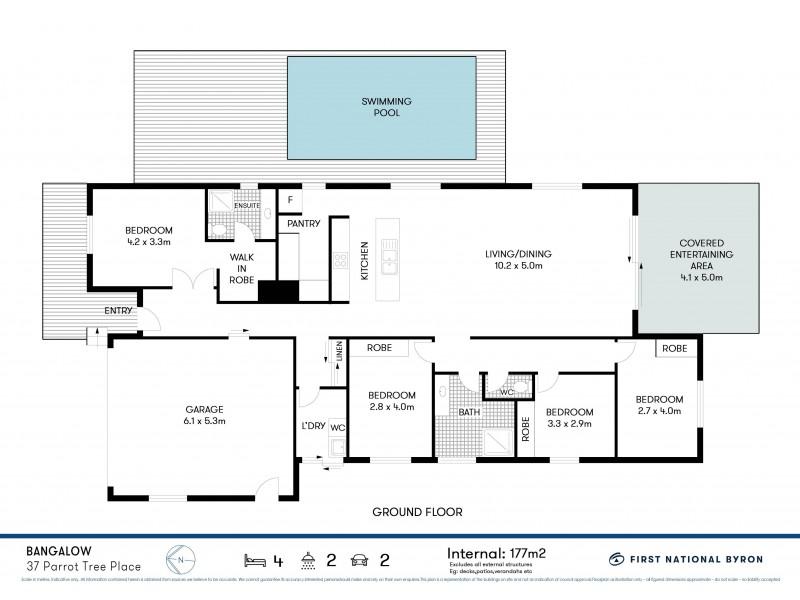 37 Parrot Tree Place, Bangalow NSW 2479 Floorplan