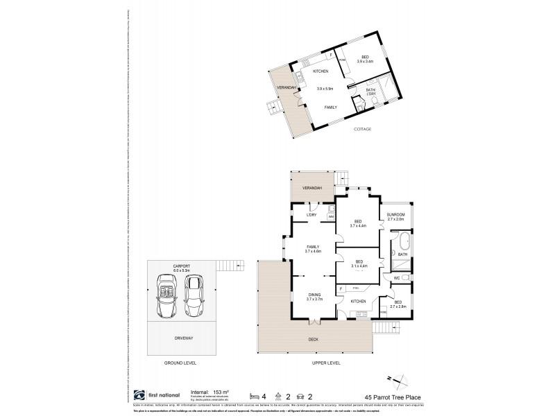 45 Parrot Tree Place, Bangalow NSW 2479 Floorplan