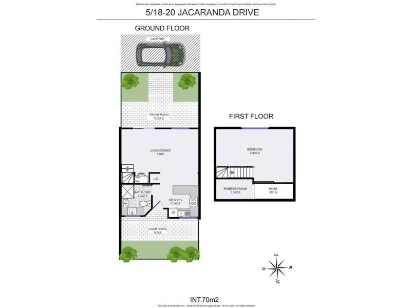 5/18-20 Jacaranda Drive, Byron Bay NSW 2481 Floorplan