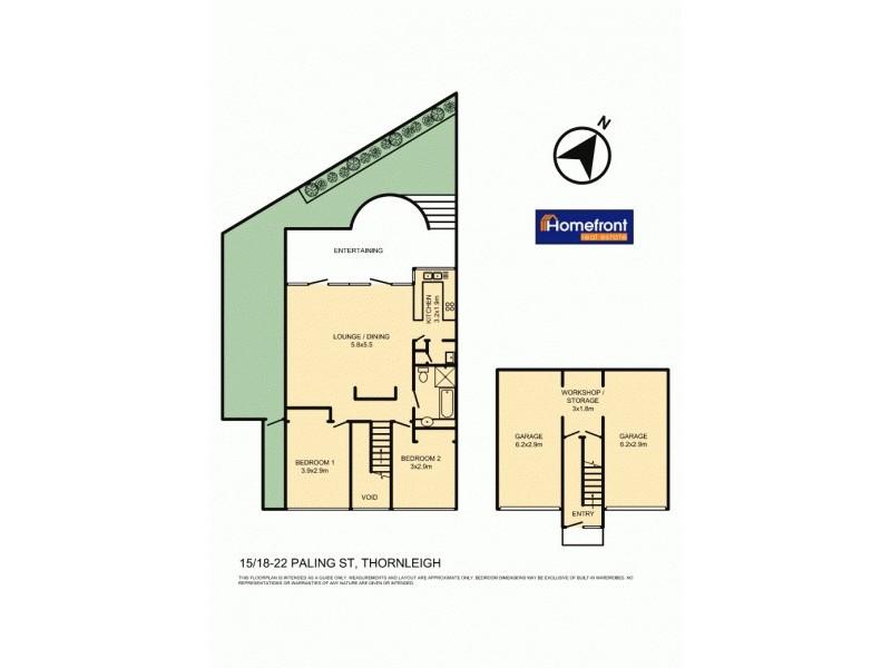 15/18-22 Paling St, Thornleigh NSW 2120 Floorplan