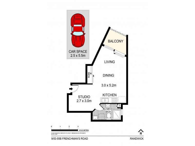 9/53-55b Frenchmans Road, Randwick NSW 2031 Floorplan