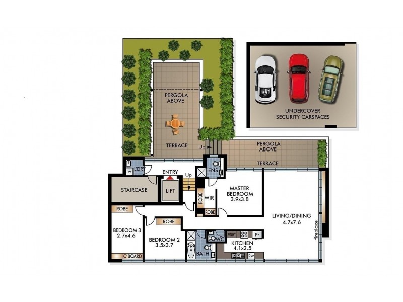 Bellevue Hill NSW 2023 Floorplan